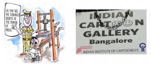 Karikaturen zu Politik und Gesellschaft in Indien @ Kulturtreff PLANTAGE